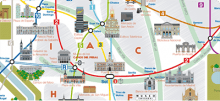 Touristic Map of the Metro Network