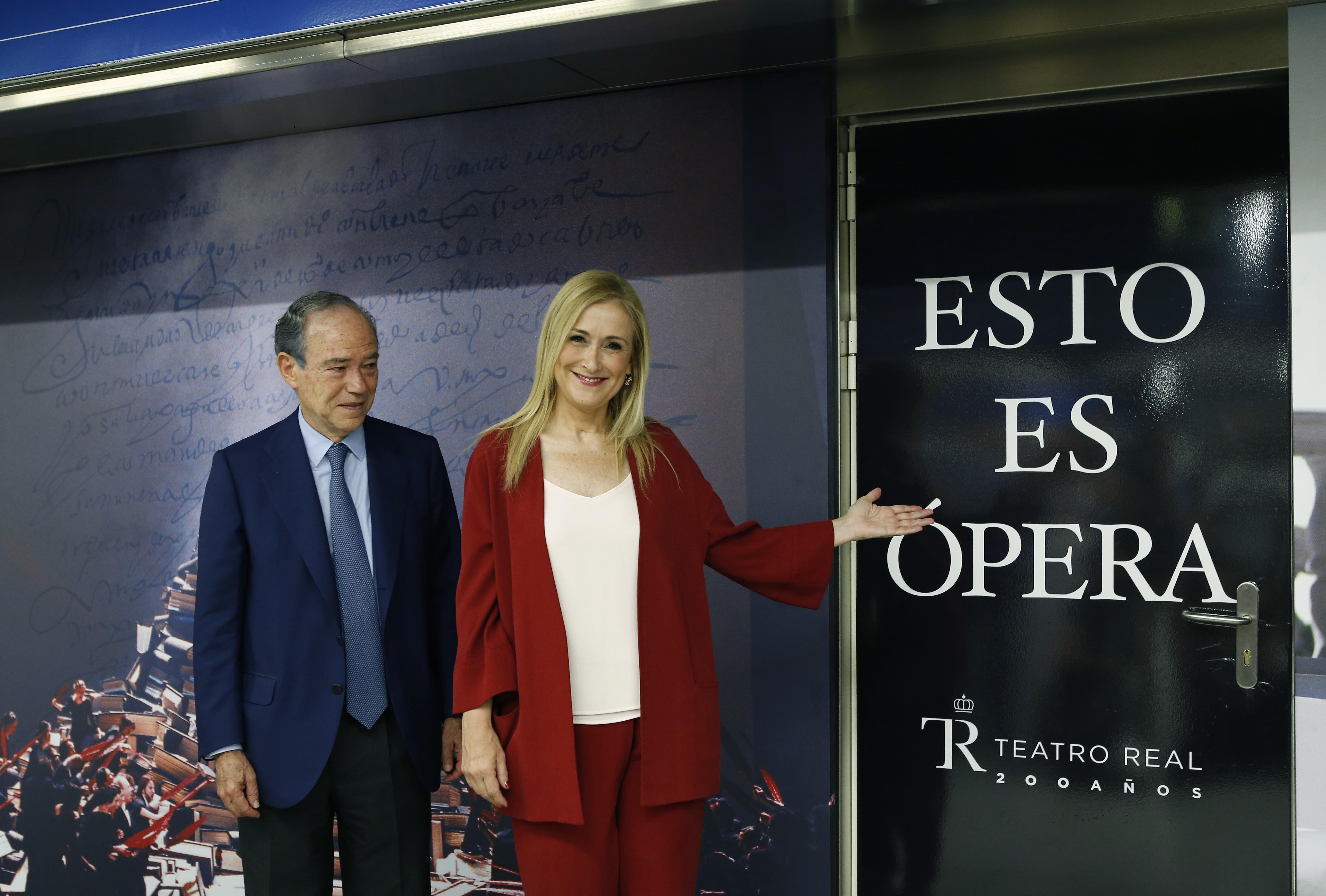 Cifuentes Moves The Teatro Real Royal Opera House Into