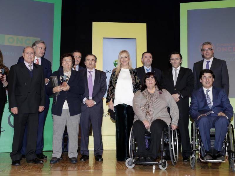 Cristina Cifuentes attended the presentation of the award
