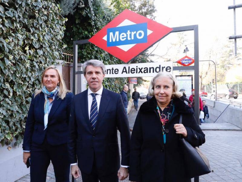 Metropolitano goes on to be called Vicente Aleixandre