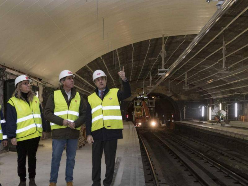 The Regional Government of Madrid continues with the modernisation works on line 4 of the underground.