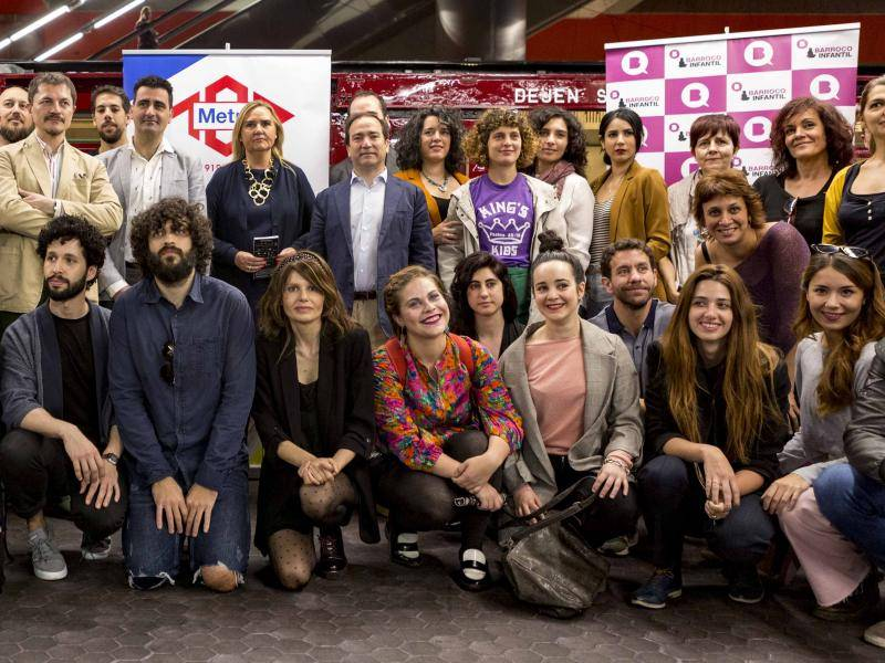 More events will be held between now and the end of June as a result of the agreement between Metro de Madrid and the Almagro Theatre Festival