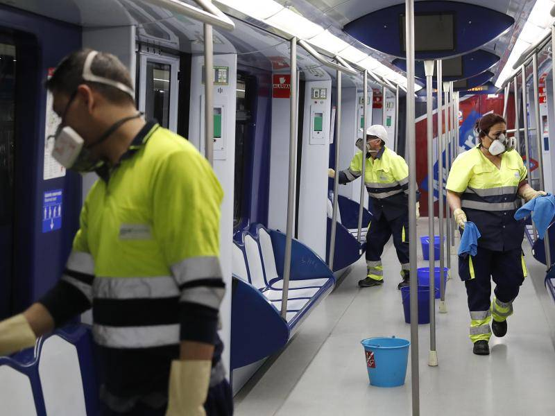 Metro de Madrid will disinfect trains and installations daily as part of the measures approved to combat coronavirus.