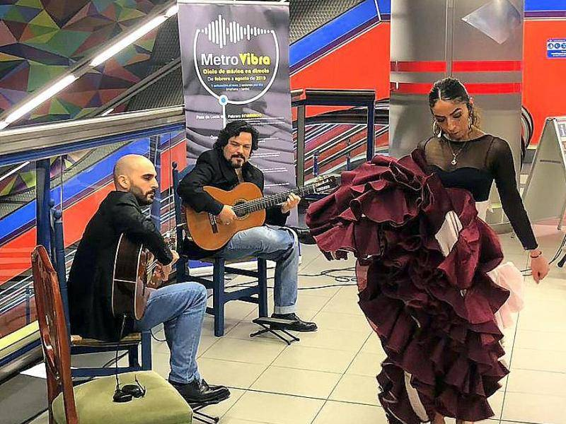 The series will begin today with a flamenco performance at Paco de Lucía station, on the fifth anniversary of his death