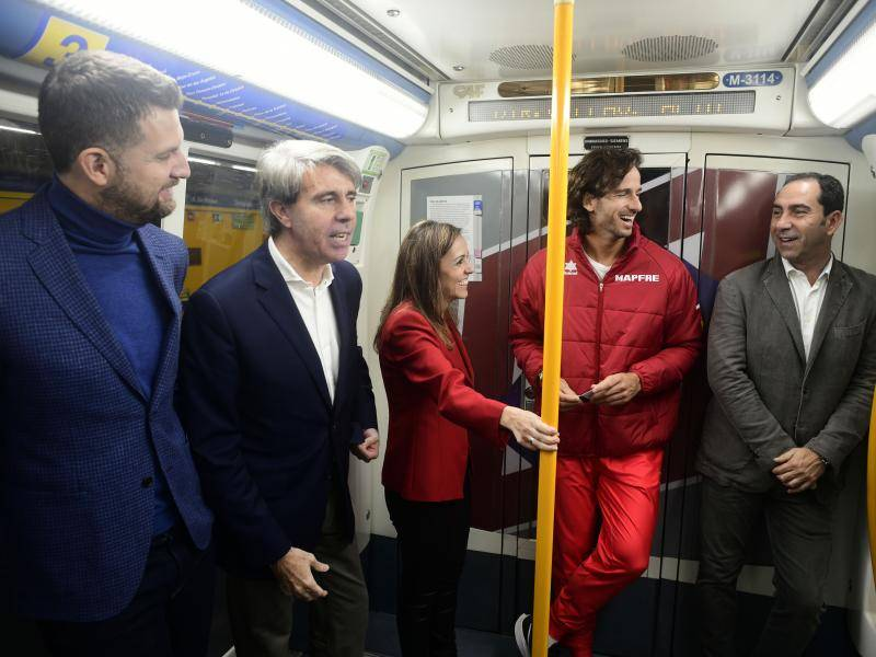 The Regional Vice-President and Councillor for Sport, Ignacio Aguado, has presented the new campaign to support tennis in the Madrid underground