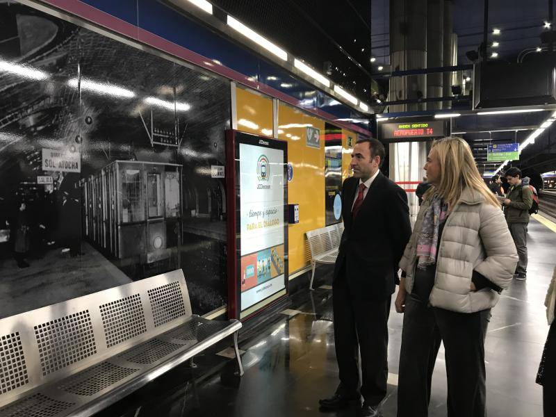 In addition to historical photographs, visitors will also be able to see what the Metro of the future will be like, through images of the technological advances on which the company is working now and which will soon see the light of day.